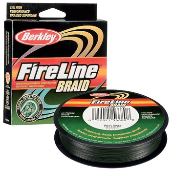 Леска плетёная Berkley FireLine Braid 0.16 мм, 110 м