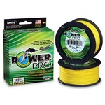 Леска плетёная Power Pro Hi-Vis Yellow 0.19 мм 275 м