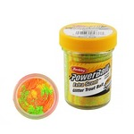 Паста форелевая Berkley PowerBait Extra Scent Glitter, Rainbow