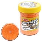 Паста форелевая Berkley PowerBait Natural Scent Glitter Crustacea, Fluorescent Orange