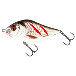 Воблер Salmo Slider 10 F, Wounded Real Grey Shiner