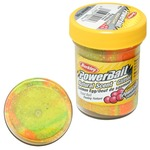 Паста форелевая Berkley PowerBait Natural Scent Glitter Salmon Egg, Rainbow