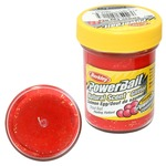 Паста форелевая Berkley PowerBait Natural Scent Salmon Egg, Salmon Red/Gltr
