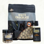Бойлы тонущие Dynamite Baits 20 мм Hi-Attract White Chocolate & Coconut Cream 1 кг